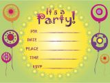 Free Printable Birthday Invitations for Kids Printable Birthday Invitations 5 Coloring Kids