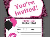 Free Printable Birthday Invitations for Teenage Girl 40th Birthday Ideas Teenage Girl Birthday Invitation