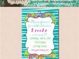 Free Printable Birthday Party Invitations for Tweens Free Printable Birthday Invitations for Tween Girls