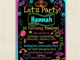 Free Printable Birthday Party Invitations for Tweens Tween Birthday Invitation Printable Tween Birthday Party