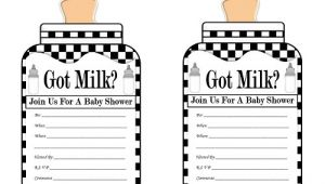 Free Printable Black and White Baby Shower Invitations Free Baby Shower Printables