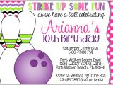 Free Printable Bowling Birthday Party Invitations 8 Best Of Make Printable Invitations Bowling
