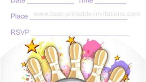 Free Printable Bowling Party Invitations for Kids Free Printable Bowling Invitations