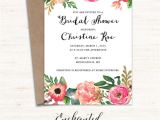 Free Printable Bridal Shower Invitations Cards Printable Bridal Shower Invitation Printable Rustic