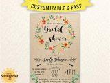 Free Printable Bridal Shower Invitations Rustic Bridal Shower Invites Bridal Shower Vintage Bridal