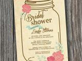 Free Printable Bridal Shower Invitations Vintage Bridal Shower Invitation Printable Custom Diy Wedding