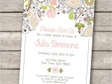 Free Printable Bridal Shower Postcard Invitations Invitations Templates Vintage Wedding Shower Invitations