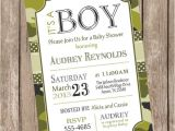 Free Printable Camo Baby Shower Invitations Camo Baby Shower Invitation Army Baby Shower Invitation