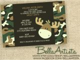 Free Printable Camo Baby Shower Invitations Camouflage Baby Shower Invitations Template