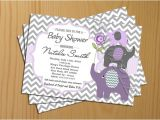 Free Printable Chevron Baby Shower Invitations Chevron Baby Shower Invitation Girl Boy Invites Free Thank