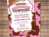 Free Printable Cowgirl Baby Shower Invitations 6 Best Of Western Party Invitations Printable