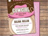 Free Printable Cowgirl Baby Shower Invitations Cowgirl Baby Shower Invitations Printable Shower or