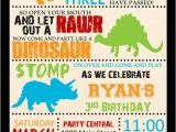 Free Printable Dinosaur Birthday Invitations 25 Best Dinosaur Birthday Invitations Ideas On Pinterest