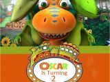 Free Printable Dinosaur Train Birthday Invitations Dinosaur Train Birthday Invitation by