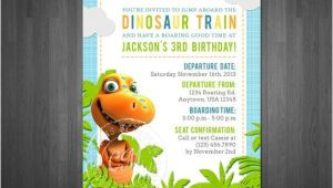 Free Printable Dinosaur Train Birthday Invitations Dinosaur Train Birthday Invitation