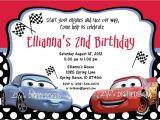 Free Printable Disney Cars Birthday Party Invitations Cars Birthday Invitations Ideas – Bagvania Free Printable