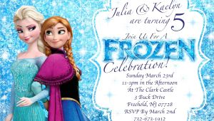 Free Printable Disney Frozen Birthday Invitations Frozen Invitations