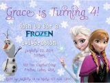 Free Printable Disney Frozen Birthday Party Invitations Free Printable Disney Frozen Birthday Invitations