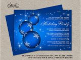 Free Printable Elegant Christmas Party Invitations Items Similar to Printable Holiday Party Invitation
