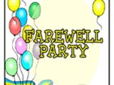 Free Printable Farewell Party Invitations 15 Farewell Lunch Invitation Jpg Vector Eps Ai