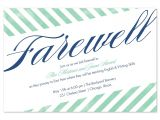 Free Printable Farewell Party Invitations Farewell Invitation Template Best Template Collection