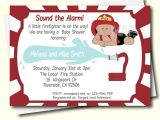 Free Printable Firefighter Baby Shower Invitations Diy Firefighter Baby Shower Invitation African American