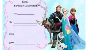Free Printable Frozen Birthday Invitations Templates Free Frozen Party Invitations Frozen Party Pinterest