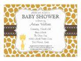 "Free Printable Giraffe Baby Shower Invitations Templates Custom Color Giraffe Baby Shower Invitations 5"" X 7"