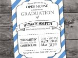 Free Printable Graduation Open House Invitations Customizable Graduation Open House Invitation by