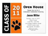 Free Printable Graduation Open House Invitations Graduation Open House 3 5 Quot X 5 Quot Invitation Card Zazzle