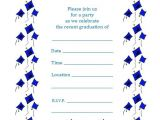 Free Printable Graduation Party Invitations Free Printable Graduation Party Invite Flying Caps