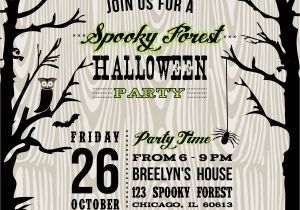 Free Printable Halloween Birthday Party Invitations Templates Free Printable Halloween Invitations Templates