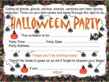 Free Printable Halloween Party Invitations Halloween Party Invitation
