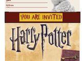 Free Printable Harry Potter Birthday Invitations Harry Potter Invitations Harry Potter Party Invitations
