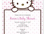 Free Printable Hello Kitty Baby Shower Invitations Baby Shower Invitations Cute Hello Kitty Baby Shower