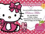 Free Printable Hello Kitty Baby Shower Invitations Hello Kitty Baby Shower Invitations and Decorations