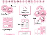 Free Printable Hello Kitty Baby Shower Invitations Hello Kitty Baby Shower Invitations Printable
