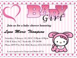 Free Printable Hello Kitty Baby Shower Invitations Hello Kitty Baby Shower Invitations Templates Ideas