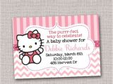 Free Printable Hello Kitty Baby Shower Invitations Pinterest • the World's Catalog Of Ideas
