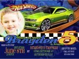 Free Printable Hot Wheels Birthday Party Invitations Etsy Your Place to and Sell All Things Handmade
