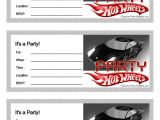 Free Printable Hot Wheels Birthday Party Invitations Free Printable Hot Wheels Birthday Party Invites