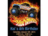 Free Printable Hot Wheels Birthday Party Invitations Hot Wheels Birthday Party Invitations