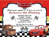 Free Printable Lightning Mcqueen Birthday Party Invitations Disney Cars Inspired Invitation Diy Digital by Modpoddesigns