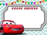 Free Printable Lightning Mcqueen Birthday Party Invitations Free Printable Cars 3 Lightning Mcqueen Invitation