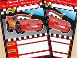 Free Printable Lightning Mcqueen Birthday Party Invitations Free Printable Disney Cars Lightning Mcqueen Birthday