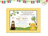 Free Printable Lion King Baby Shower Invitations Printable Lion King Baby Shower Invitations