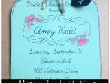 Free Printable Mason Jar Bridal Shower Invitations 25 Best Ideas About Mason Jar Invitations On Pinterest