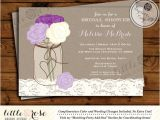 Free Printable Mason Jar Bridal Shower Invitations Mason Jar Bridal Shower Invitation Bridal Shower Invite