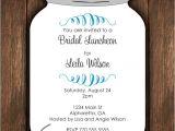 Free Printable Mason Jar Bridal Shower Invitations Mason Jar Die Cut Invitation Bridal Shower or Any