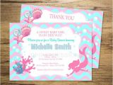 Free Printable Mermaid Baby Shower Invitations Mermaid Girl Baby Shower Invitation Printable Mermaid